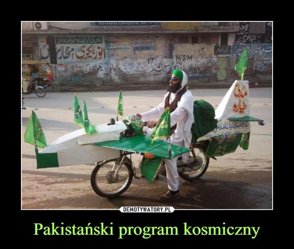 Pakistański program kosmiczny –