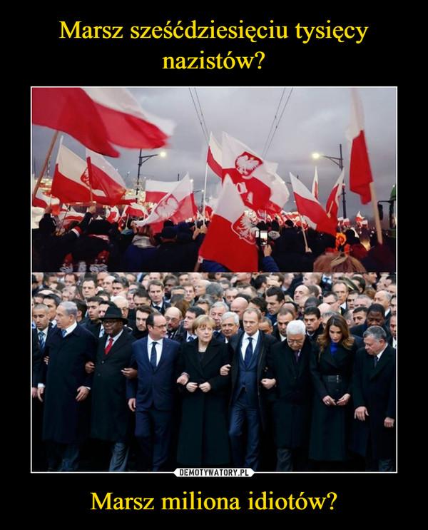 Marsz miliona idiotów? –