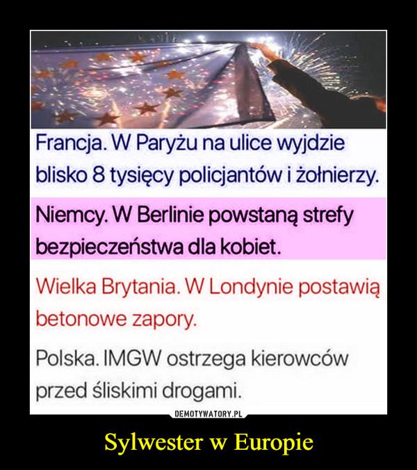 Sylwester w Europie –