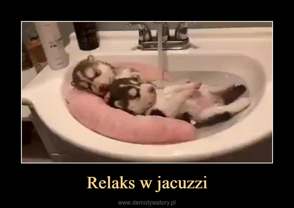 Relaks w jacuzzi –
