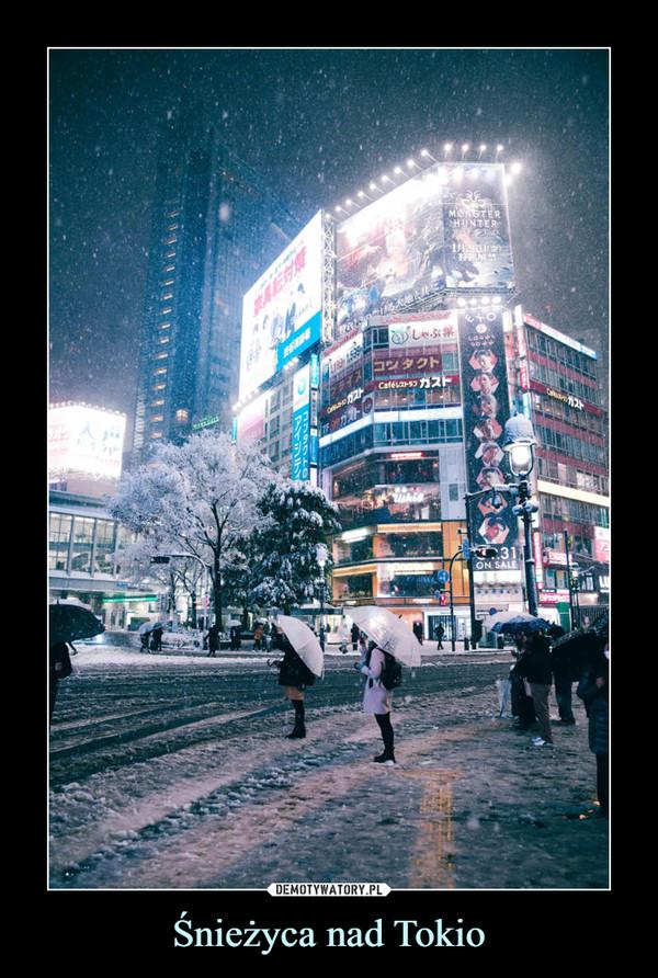 Śnieżyca nad Tokio –