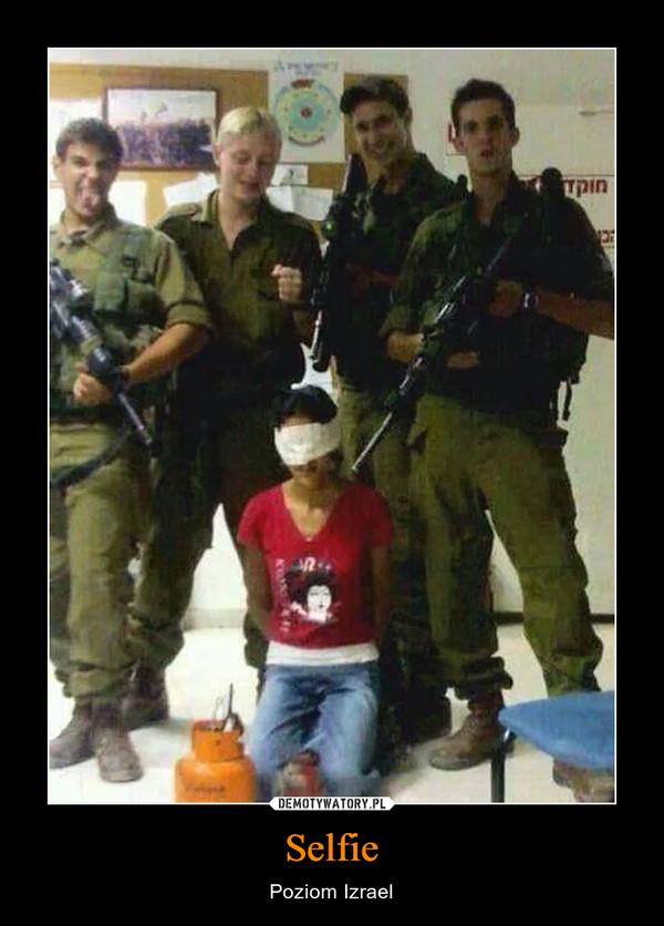 Selfie – Poziom Izrael