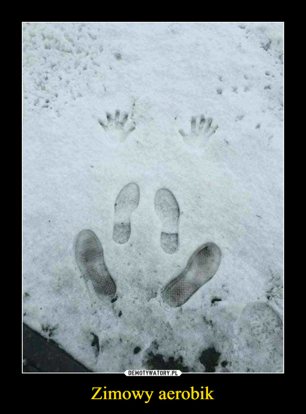 Zimowy aerobik –