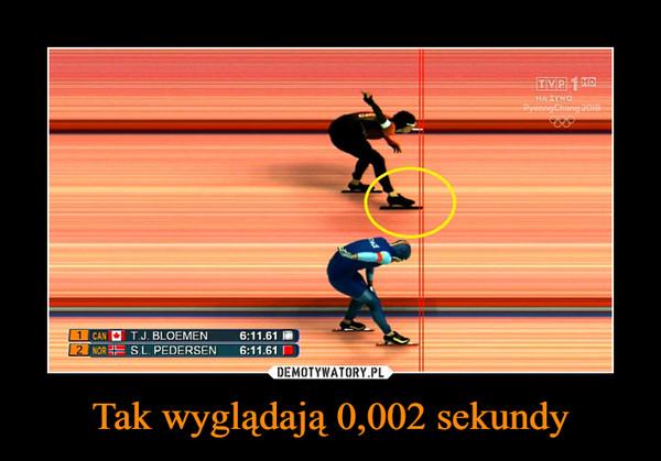 Tak wyglądają 0,002 sekundy –