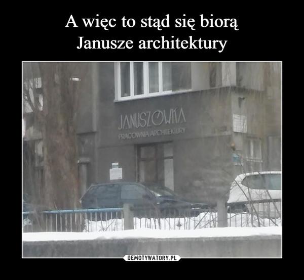 –  Januszówka Pracownia architektury