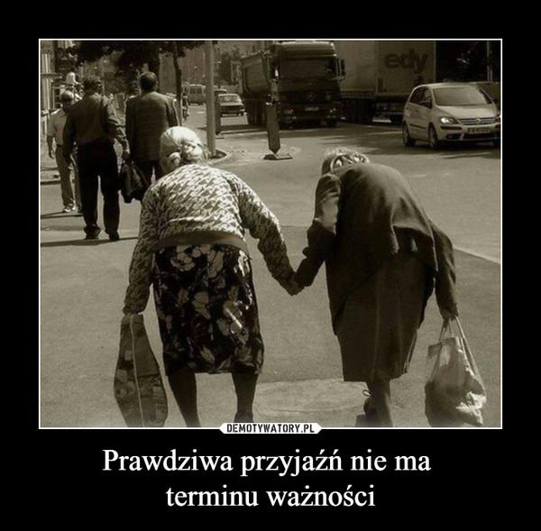 Prawdziwa przyjaźń nie ma terminu ważności –