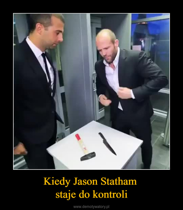 Kiedy Jason Statham staje do kontroli –