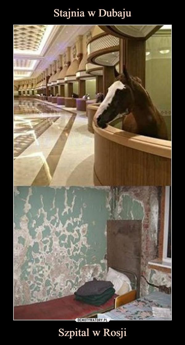 Szpital w Rosji –