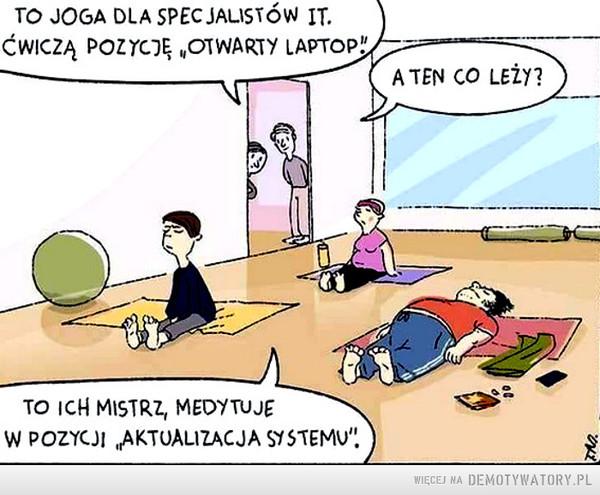 Umieć ustawić się na szkoleniu... –