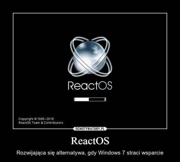 ReactOS – Rozwijająca się alternatywa, gdy Windows 7 straci wsparcie