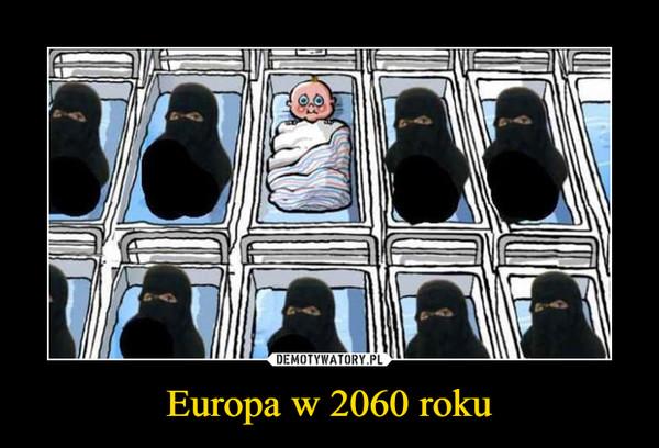 Europa w 2060 roku –