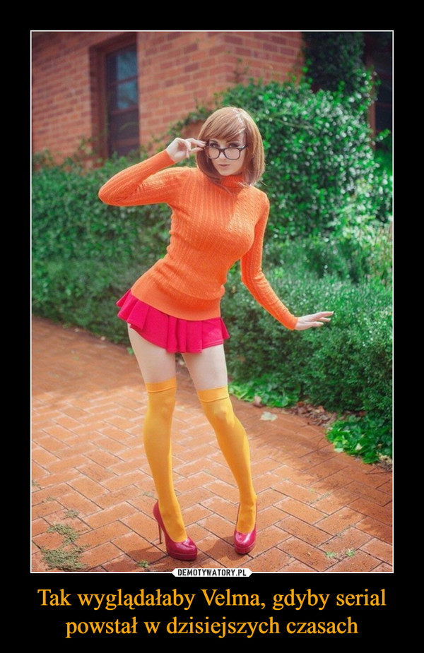 Tak wyglądałaby Velma, gdyby serial powstał w dzisiejszych czasach –