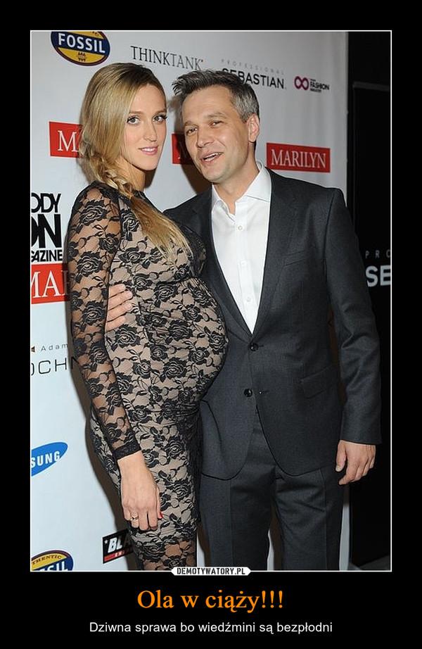 Ola w ciąży!!! – Dziwna sprawa bo wiedźmini są bezpłodni