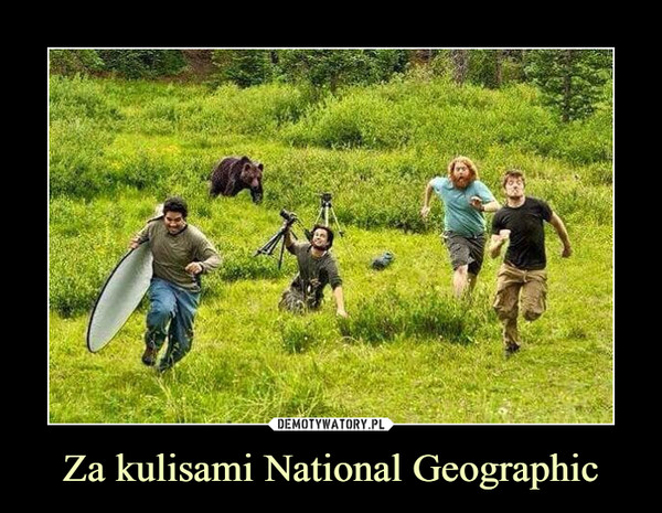 Za kulisami National Geographic –