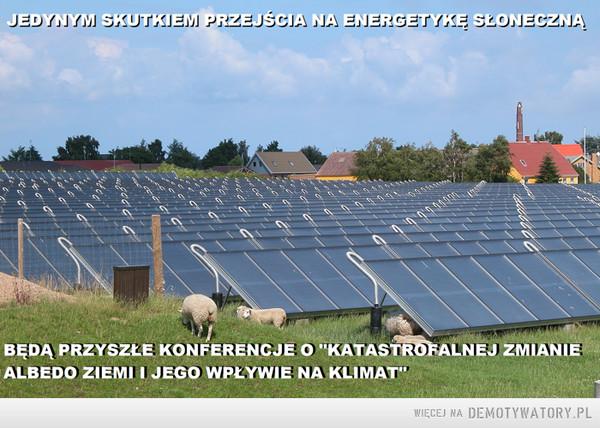 Energetyka słoneczna - albedo ziemi –