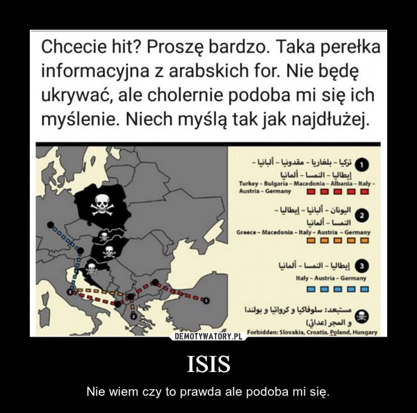 ISIS – Nie wiem czy to prawda ale podoba mi się.