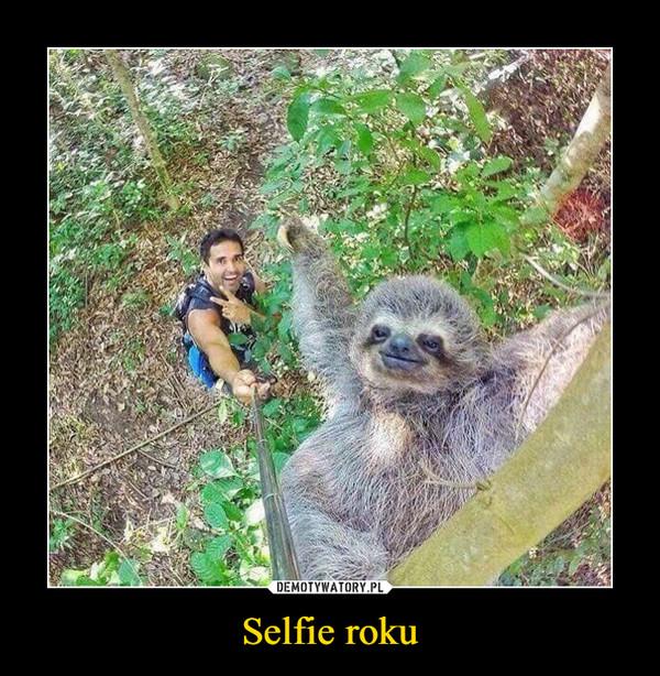 Selfie roku –