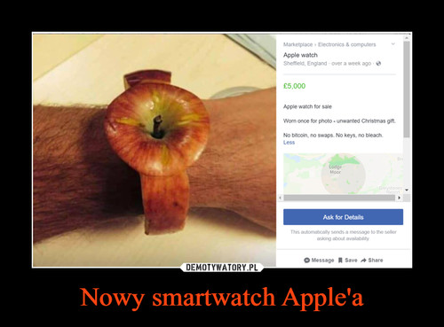 Nowy smartwatch Apple'a