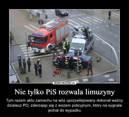 Nie tylko PiS rozwala limuzyny