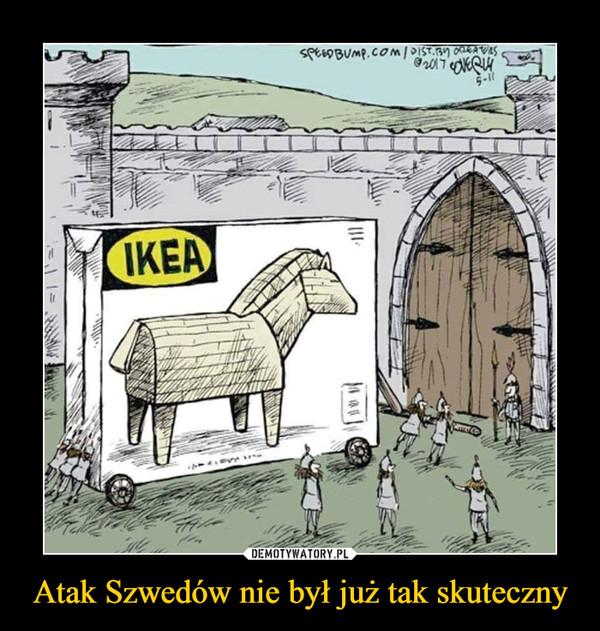 Atak Szwedów nie był już tak skuteczny –