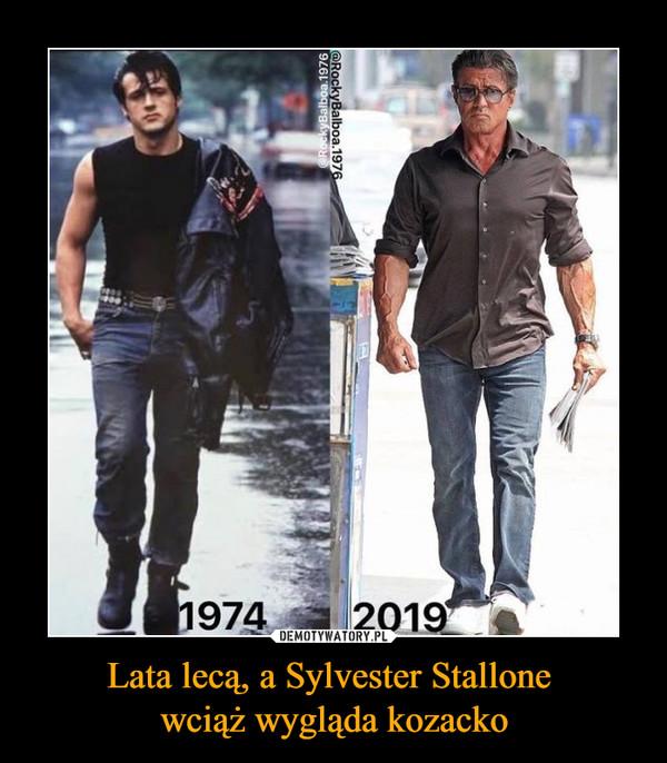 Lata lecą, a Sylvester Stallone wciąż wygląda kozacko –