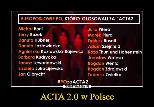 ACTA 2.0 w Polsce