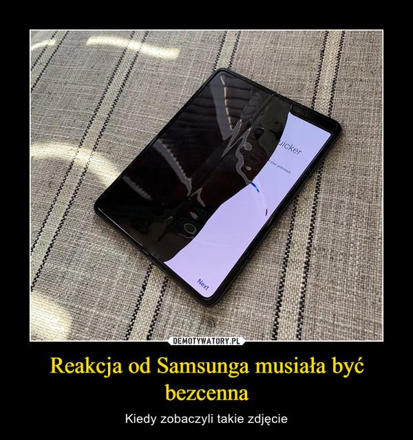 Reakcja od Samsunga musiała być bezcenna – Kiedy zobaczyli takie zdjęcie