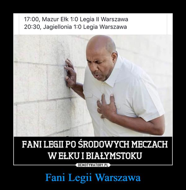 Fani Legii Warszawa –
