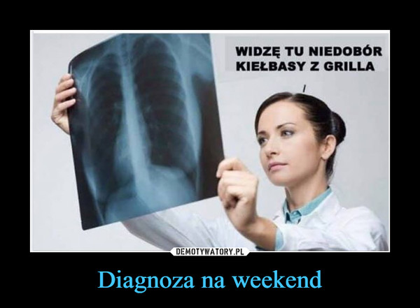 Diagnoza na weekend –