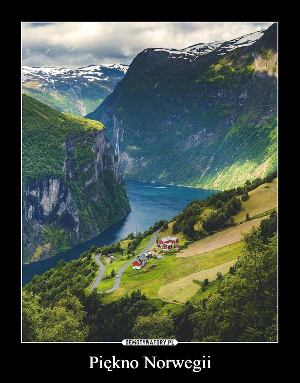 Piękno Norwegii –