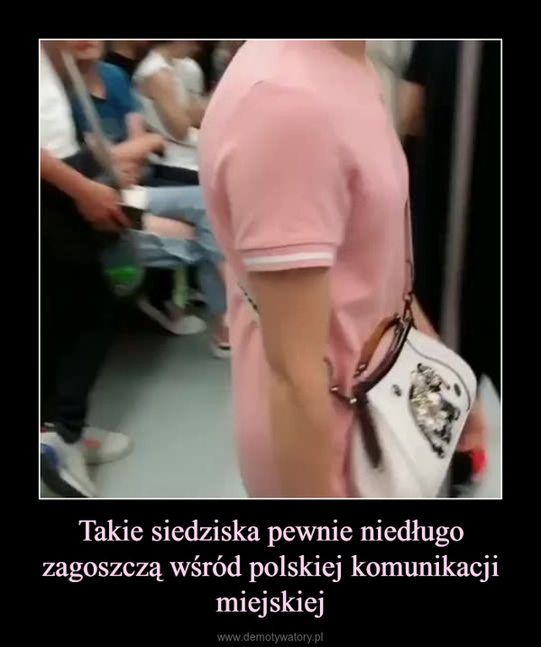 Takie siedziska pewnie niedługo zagoszczą wśród polskiej komunikacji miejskiej –