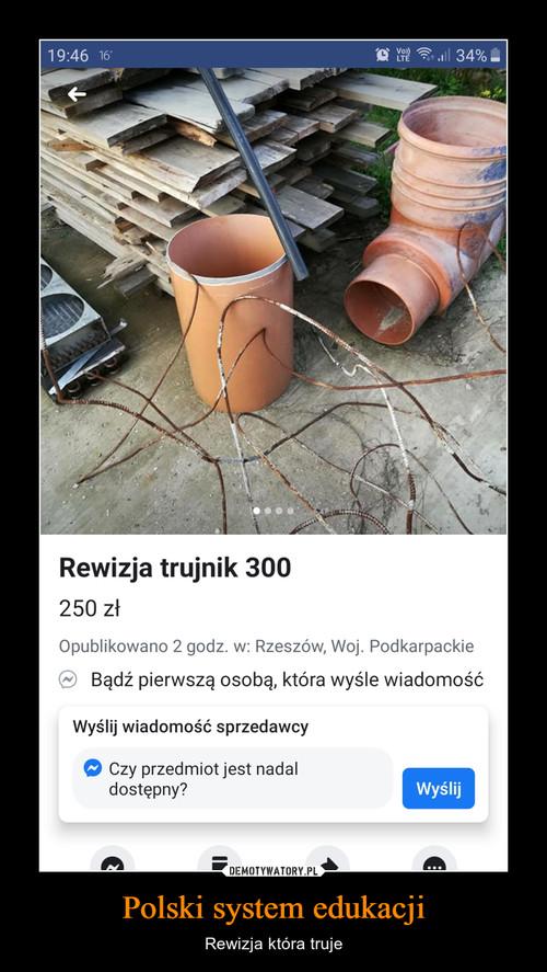 Polski system edukacji