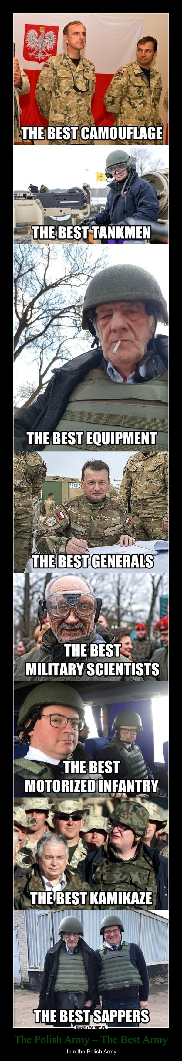 The Polish Army – The Best Army – Join the Polish Army