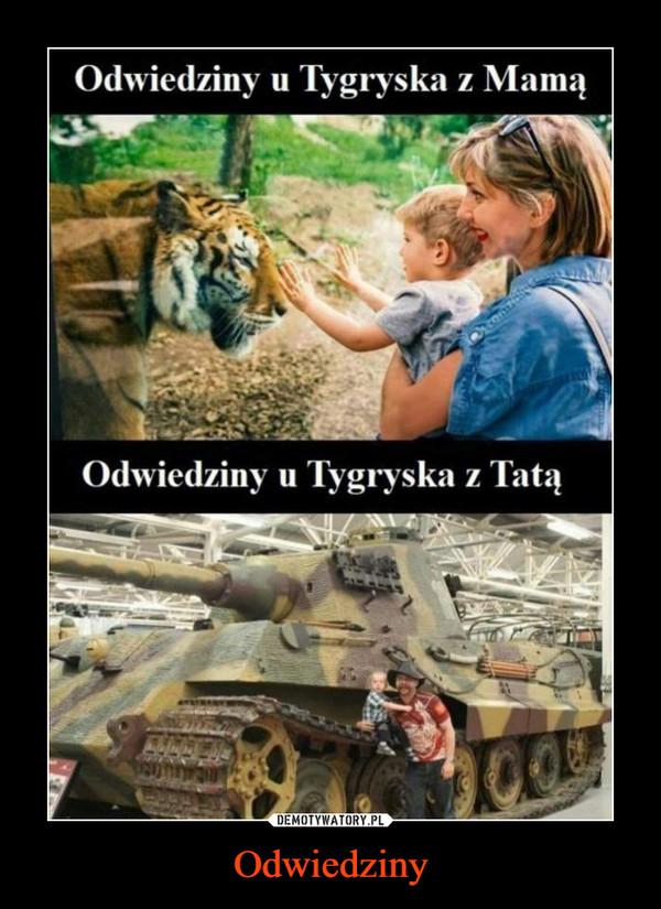 Odwiedziny –  Odwiedziny u Tygryska z MamąOdwiedziny u Tygryska z Tatą