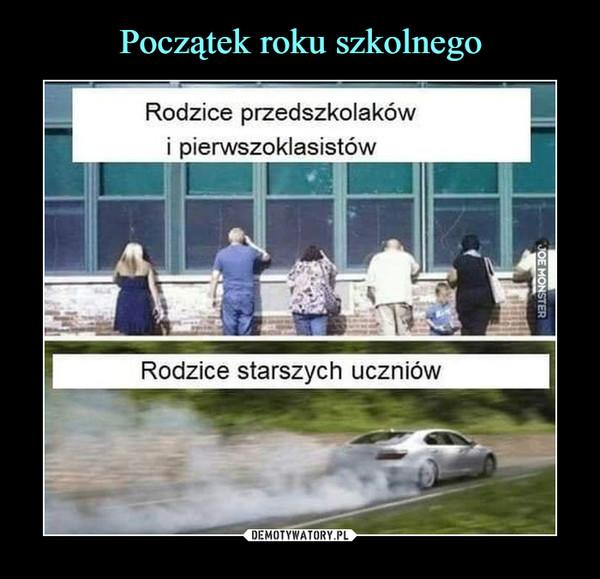 –  Rodzice przedszkolakówi pierwszoklasistówRodzice starszych uczniów