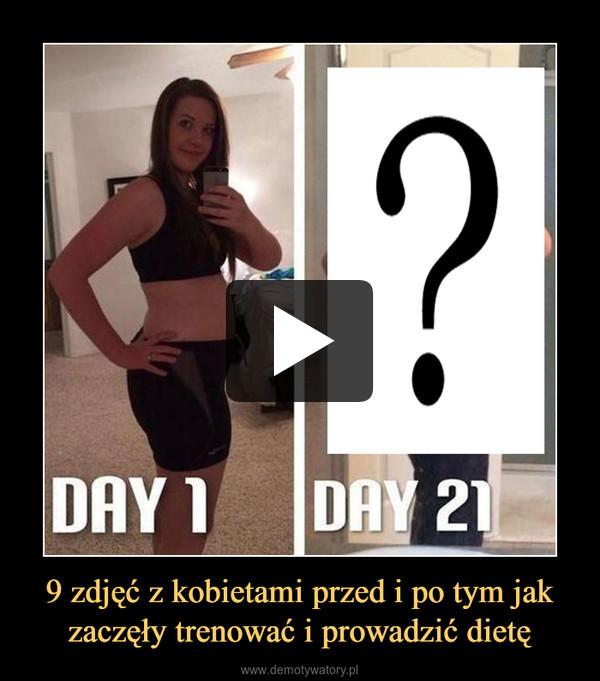 9 zdjęć z kobietami przed i po tym jak zaczęły trenować i prowadzić dietę –