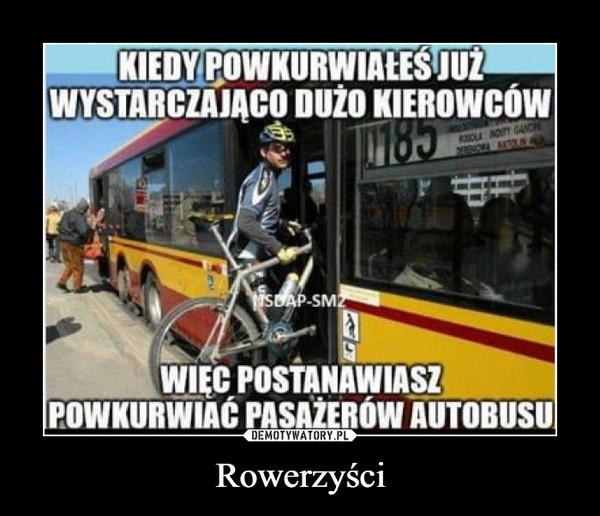Rowerzyści –