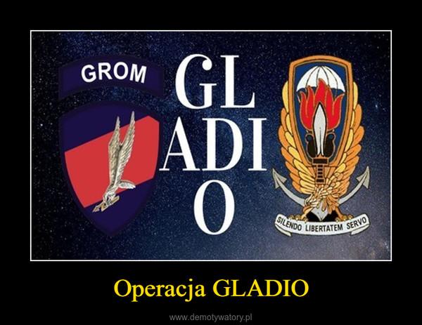Operacja GLADIO –