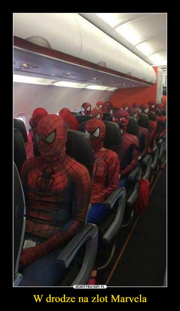 W drodze na zlot Marvela –