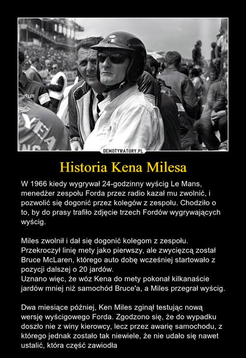 Historia Kena Milesa