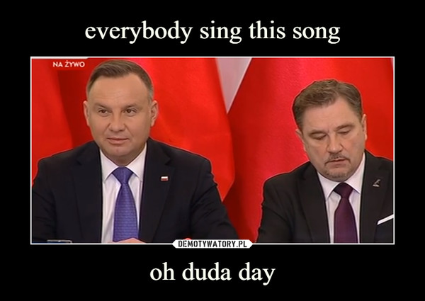 oh duda day –