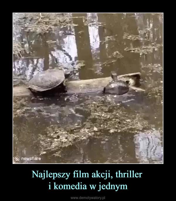 Najlepszy film akcji, thriller i komedia w jednym –