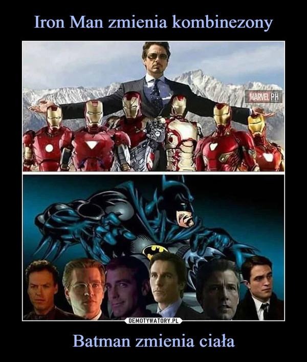 Batman zmienia ciała –