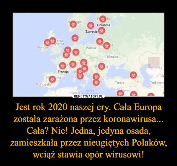 Jest rok 2020 naszej ery. Cała Europa została zarażona przez koronawirusa... Cała? Nie! Jedna, jedyna osada, zamieszkała przez nieugiętych Polaków, wciąż stawia opór wirusowi! –