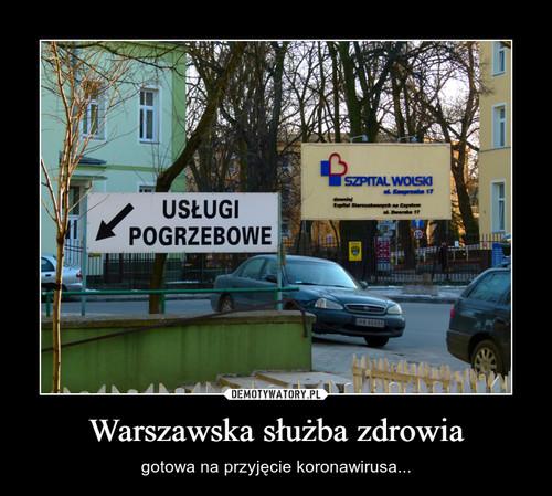 Warszawska służba zdrowia