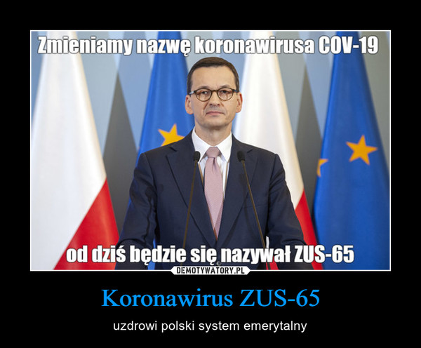 Koronawirus ZUS-65 – uzdrowi polski system emerytalny