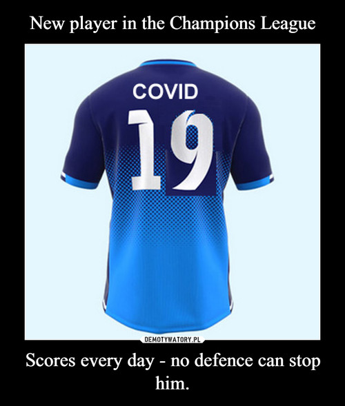 New player in the Champions League Scores every day - no defence can stop him.