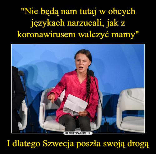 """""""Nie będą nam tutaj w obcych językach narzucali, jak z koronawirusem walczyć mamy"""" I dlatego Szwecja poszła swoją drogą"""