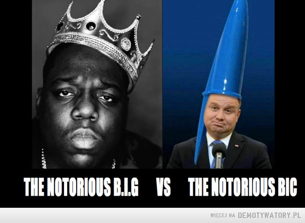 THE NOTORIOUS B.I.G vs THE NOTORIOUS BIC –