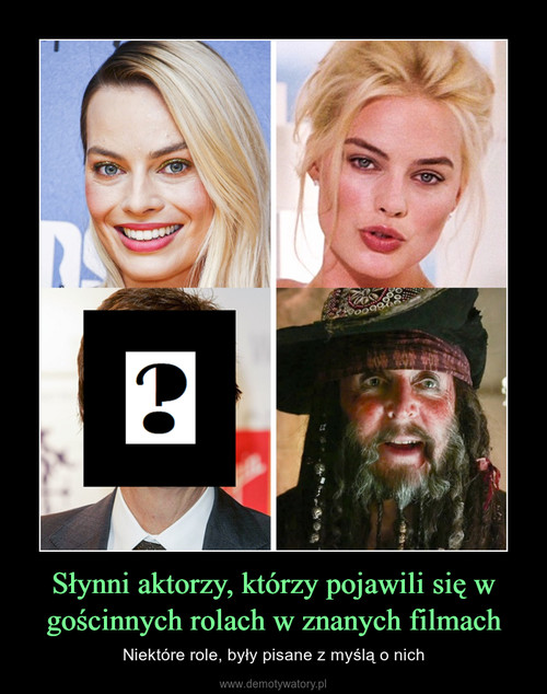 Słynni aktorzy, którzy pojawili się w gościnnych rolach w znanych filmach